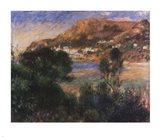 The Esterel Mountains Art Print