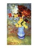 Vase With Anemone Art Print