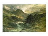 A Canyon, 1878 Art Print