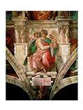Sistine Chapel Ceiling: The Prophet Isaiah Art Print