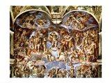 Sistine Chapel: The Last Judgement, 1538-41 Art Print