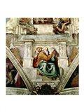 Sistine Chapel Ceiling, 1508-12 Art Print