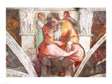 Sistine Chapel Ceiling: The Prophet Jeremiah Art Print