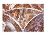 Sistine Chapel Ceiling: Haman Art Print