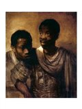 Two Negroes, 1661 Art Print
