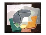 Fruit-dish and carafe, 1927 Art Print