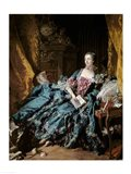 Madame de Pompadour, 1756 Art Print