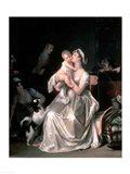 Motherhood, 1805 Art Print