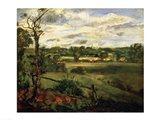 View of Highgate from Hampstead Heath, c.1834 Art Print