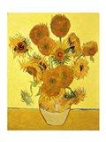 Sunflowers, 1888 yellow Art Print