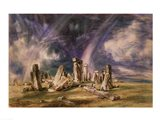 Stonehenge, 1835 Art Print