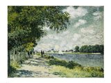 The Seine at Argenteuil, 1875 Art Print