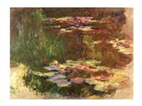 The Lily Pond, c.1917 Art Print