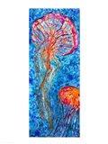 Jellyfish Duo Art Print