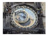 Prague - Astronomical Clock Detail Art Print