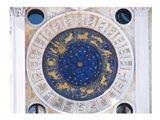 St Marks Venice Clock Art Print