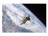 STS115 Atlantis Undock ISS Art Print