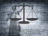 Justice Law Mark Twain Quote Art Print