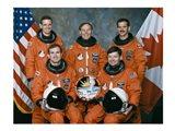 Atlantis STS-74 Crew Art Print