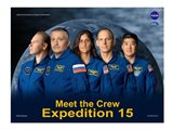 Expedition 15 Crew Poster Art Print