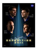 Expedition 17 Crew Poster Art Print