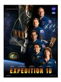 Expedition 18 Crew Poster Art Print