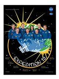 Expedition 19 Crew Poster Art Print