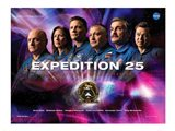Expedition 25 Mission Poster Art Print