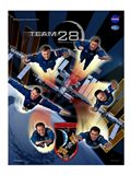 Expedition 28 Supermen Crew Poster Art Print