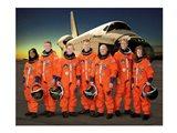 STS 121 Crew Portrait Art Print