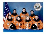 STS 58 Crew Art Print