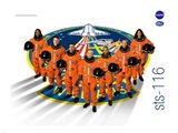 STS 116 Mission Poster Art Print