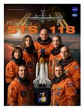 STS 118 Mission Poster Art Print