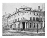 Bank of British North America 1867 Toronto Art Print