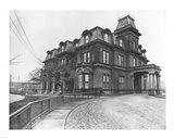 Government House circa 1908 Art Print