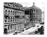 North side of Front Street 1930 Art Print