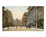 Postcard of Toronto street and post office, Toronto, Canada Art Print