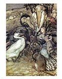 Alice in Wonderland, But who has won Art Print