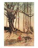 Little Red Riding Hood II Art Print