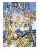 Fairy Song Art Print