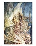 Siegfried and the Twilight of the Gods Art Print