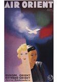 Air Orient Art Print