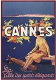 Cannes Art Print