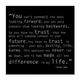 Trust Quote Art Print