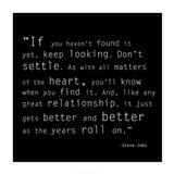 Keep Looking Quote Art Print