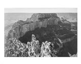 Close-in view of curved cliff, Grand Canyon National Park, Arizona Art Print