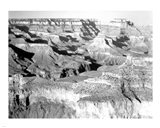 Grand Canyon National Park canyon with ravine winding Art Print