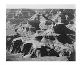 View of rock formations, Grand Canyon National Park,  Arizona, 1933 Art Print