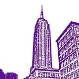 Purple Empire Art Print
