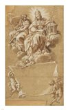 Faith and Justice Enthroned Art Print
